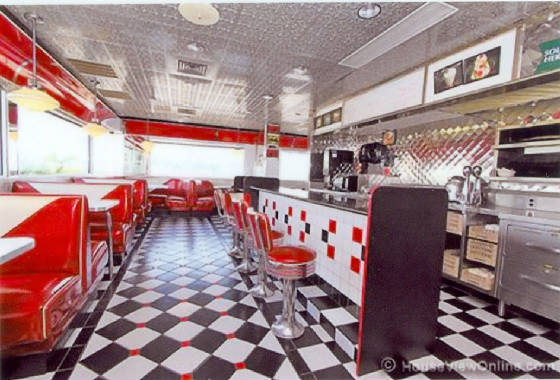 More diner photos for 50 s diner exterior